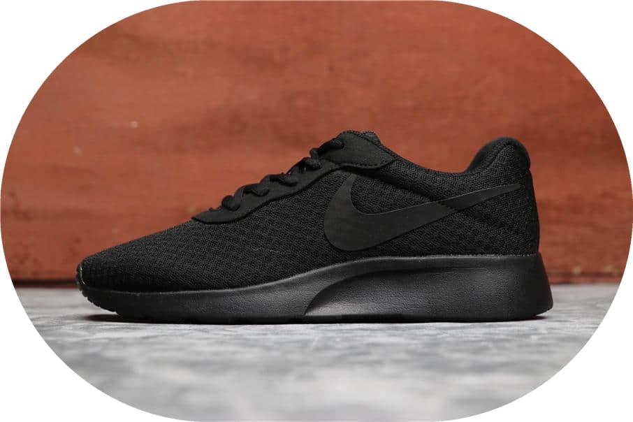 Nike Roshe Run TANJUN全黑 耐克奥运伦敦3代真标高品质 货号:844908-001