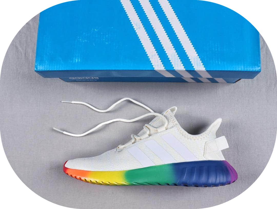 阿迪达斯Adidas Tublar Doom Sock PK 官方新款顶级真标版本简版小椰子针织鞋面夏季透气跑鞋 货号:EG2643
