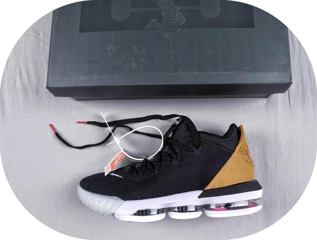 詹姆斯联名款Atmos x NK Lebron XVI詹皇第16代纯原版本实战篮球鞋内置Max大气垫 货号:CI2669-001