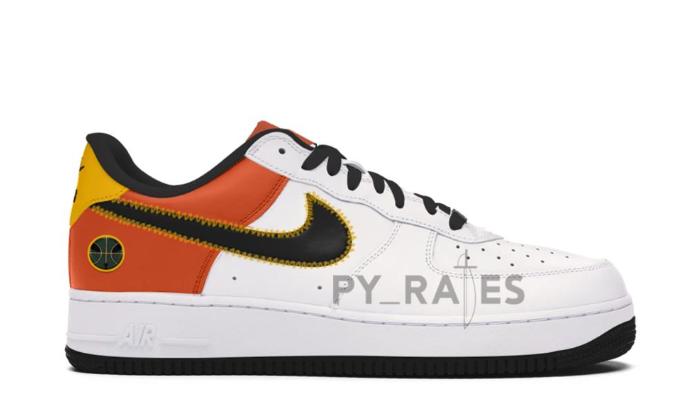 "Nike Air Force 1 ""Raygun""最新渲染图释出!外星人 logo没了!"
