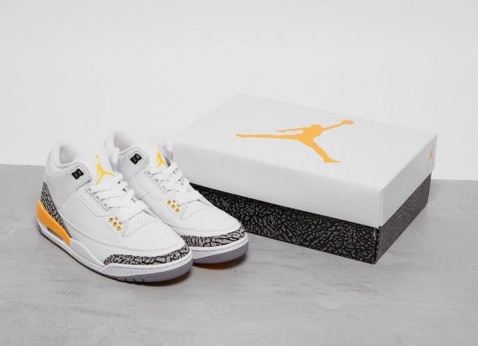 鞋盒首曝光!白橙AJ3最新实物图释出!8月21日发售! 货号:CK9246-108