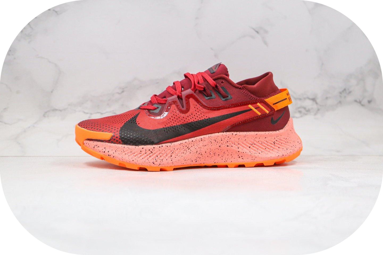 耐克Nike Zoom Pegasus Trall 2纯原版本登月系列超级飞马2代越野跑鞋酒红色原档案数据开发 货号:CK4305-007