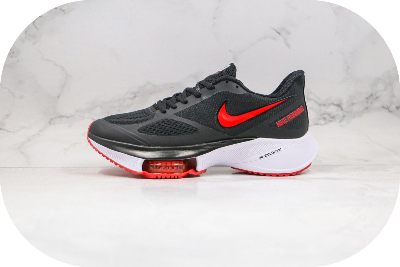 耐克Nike zoom winflo 37X NEXT%纯原版本马拉松气垫慢跑鞋黑红色内置气垫原盒原标 货号:CI9923-086
