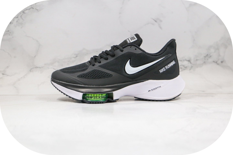 耐克Nike Air ZooM Pegasus Tempo NEXT%纯原版本马拉松透气气垫缓震跑鞋黑白色原档案数据开发 货号:CI9923-083