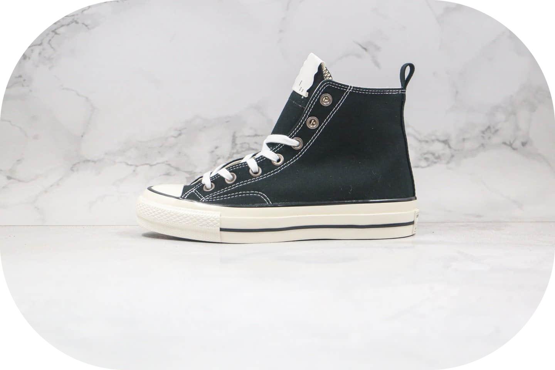 匡威Converse x N.Hollywood x 野口强三方联名款公司级版本黑色硫化帆布鞋原鞋开模一比一打造 货号:1CK716