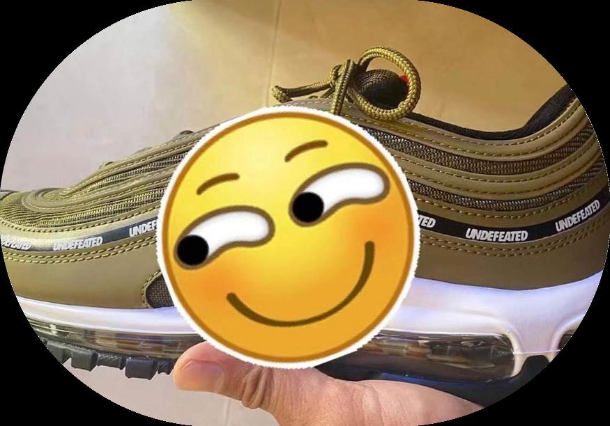 天价联名复刻!?Undefeated x Nike Air Max 97实物首度曝光! 货号:DC4830-300封面