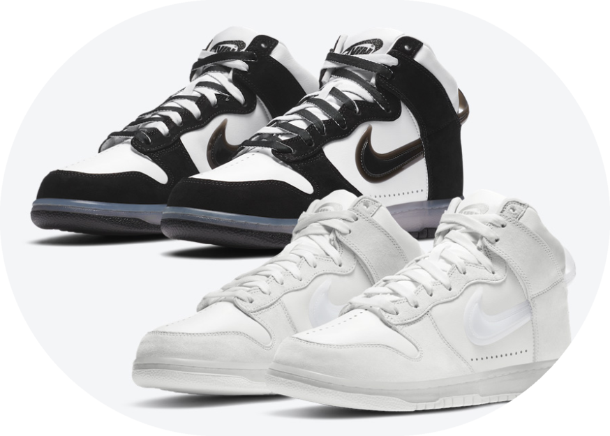 已市售配色市价近四千!Slam Jam x Nike Dunk High黑白熊猫配色本月月底发售! 货号:DA1639-101封面