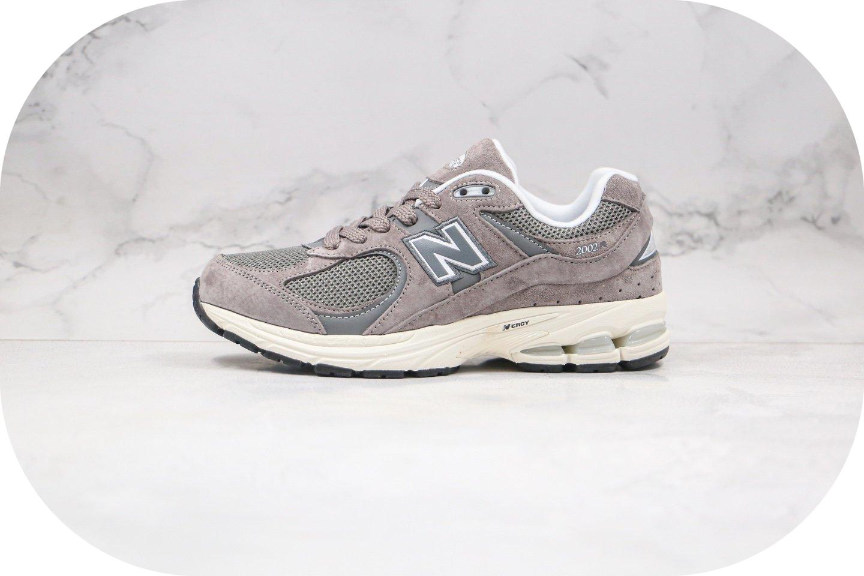 新百伦new balance 2002纯原版本复古老爹鞋NB2002灰白色原档案数据开发原盒原标 货号:ML2002RC