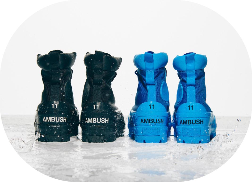硬朗军靴+毛绒板鞋!Ambush x Converse新联名即将登场!封面