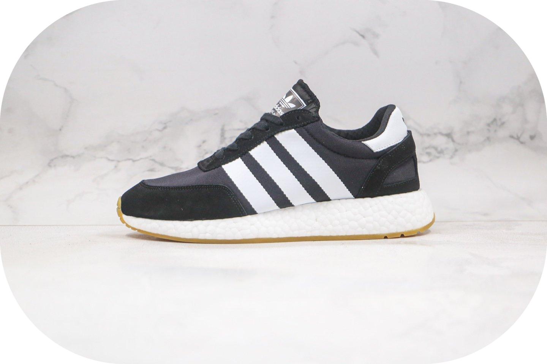 阿迪达斯Adidas Boost L-5923纯原版本三叶草爆米花跑鞋黑白色原盒原标原档案数据开发 货号:D97377