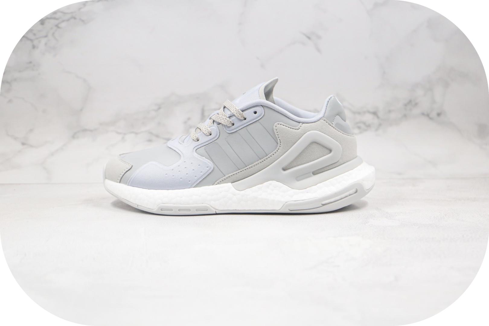 阿迪达斯Adidas Originals 2020 Day Jogger Boost纯原版本夜行者二代爆米花跑鞋灰白色原楦头纸板打造 货号:FW4823