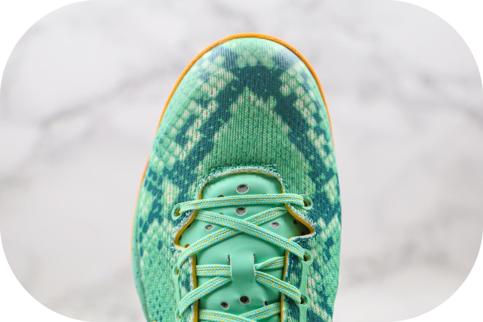 耐克Nike Kobe 8 System纯原版本科比8代黄绿色篮球鞋原档案数据开发原盒原标 货号:555035-304