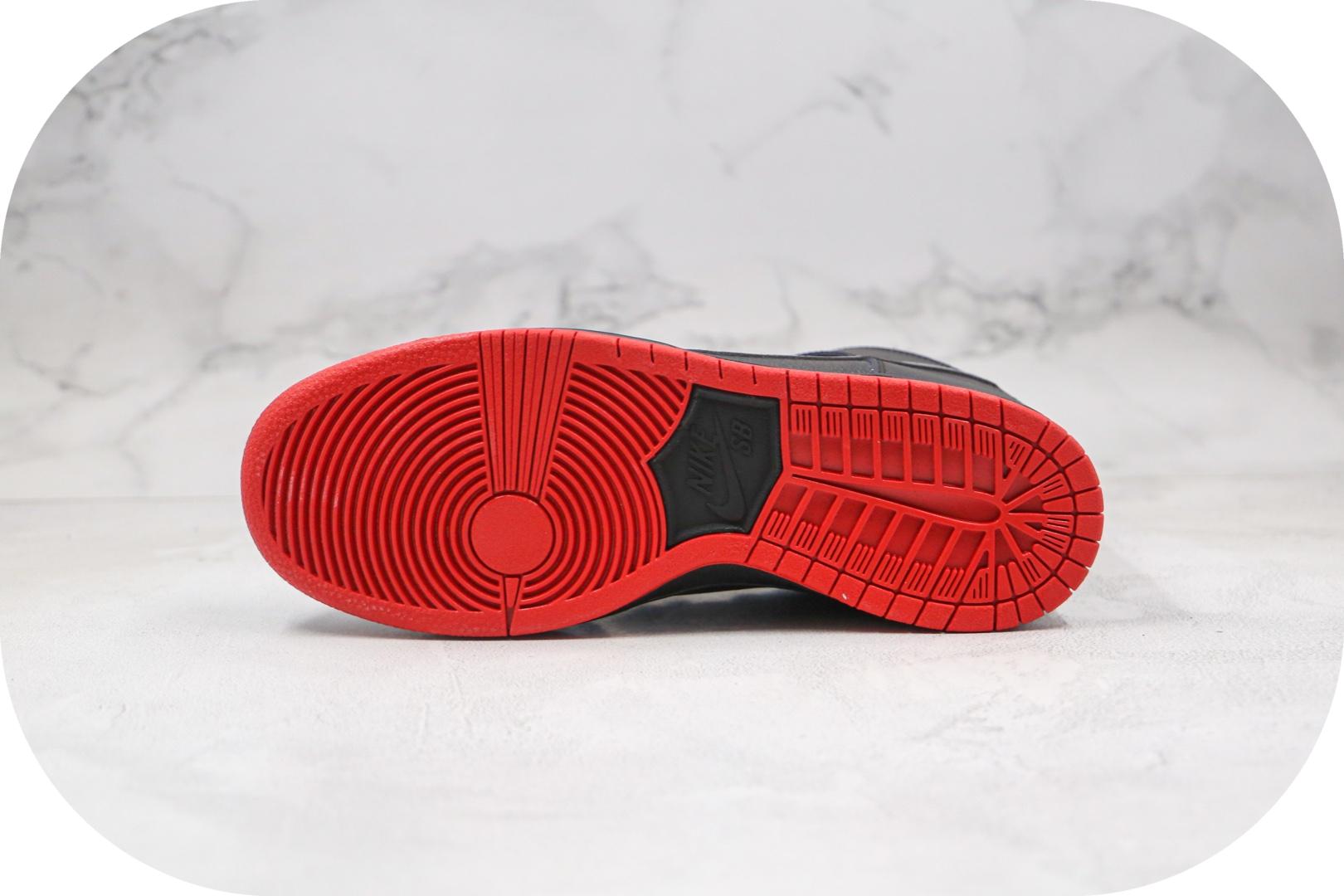 耐克Nike SB Dunk High Premium纯原版本高帮sb dunk西班牙海盗典藏版板鞋内置Zoom气垫原盒原标 货号:313171-028