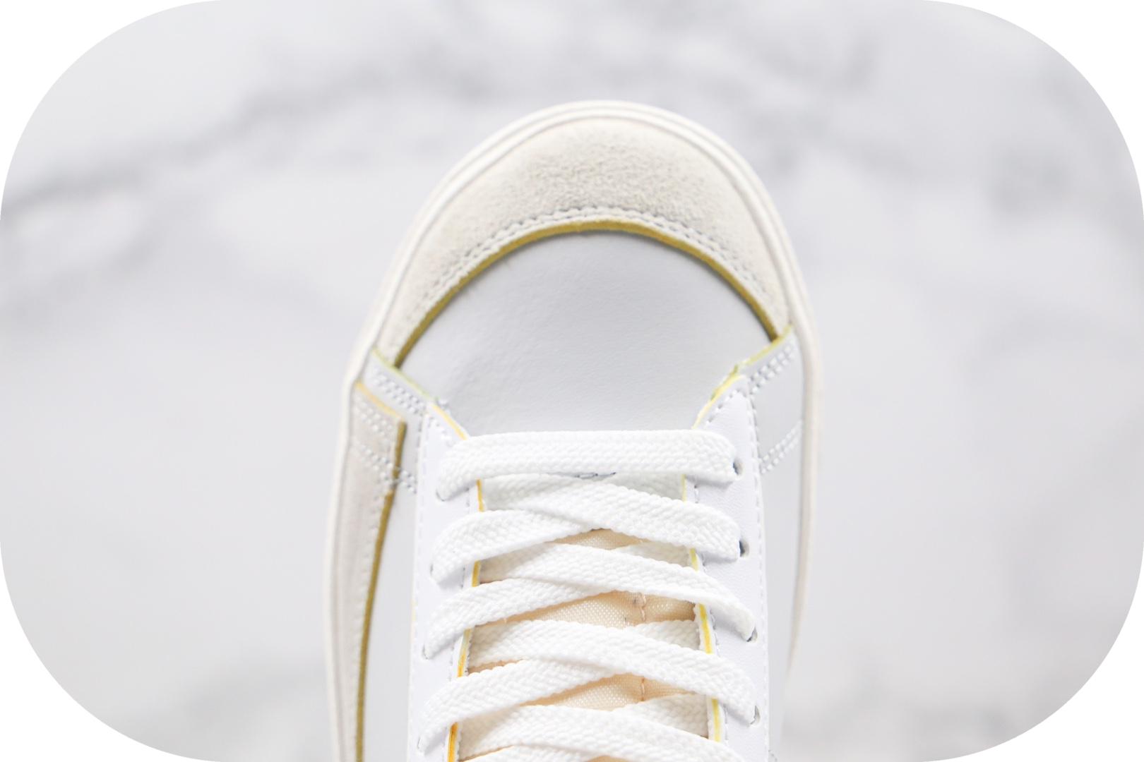 耐克Nike Blazer Mid '77 Label Maker纯原版本中帮开拓者刮刮乐开口笑板鞋鞋面正确可撕 货号:DC5203-100