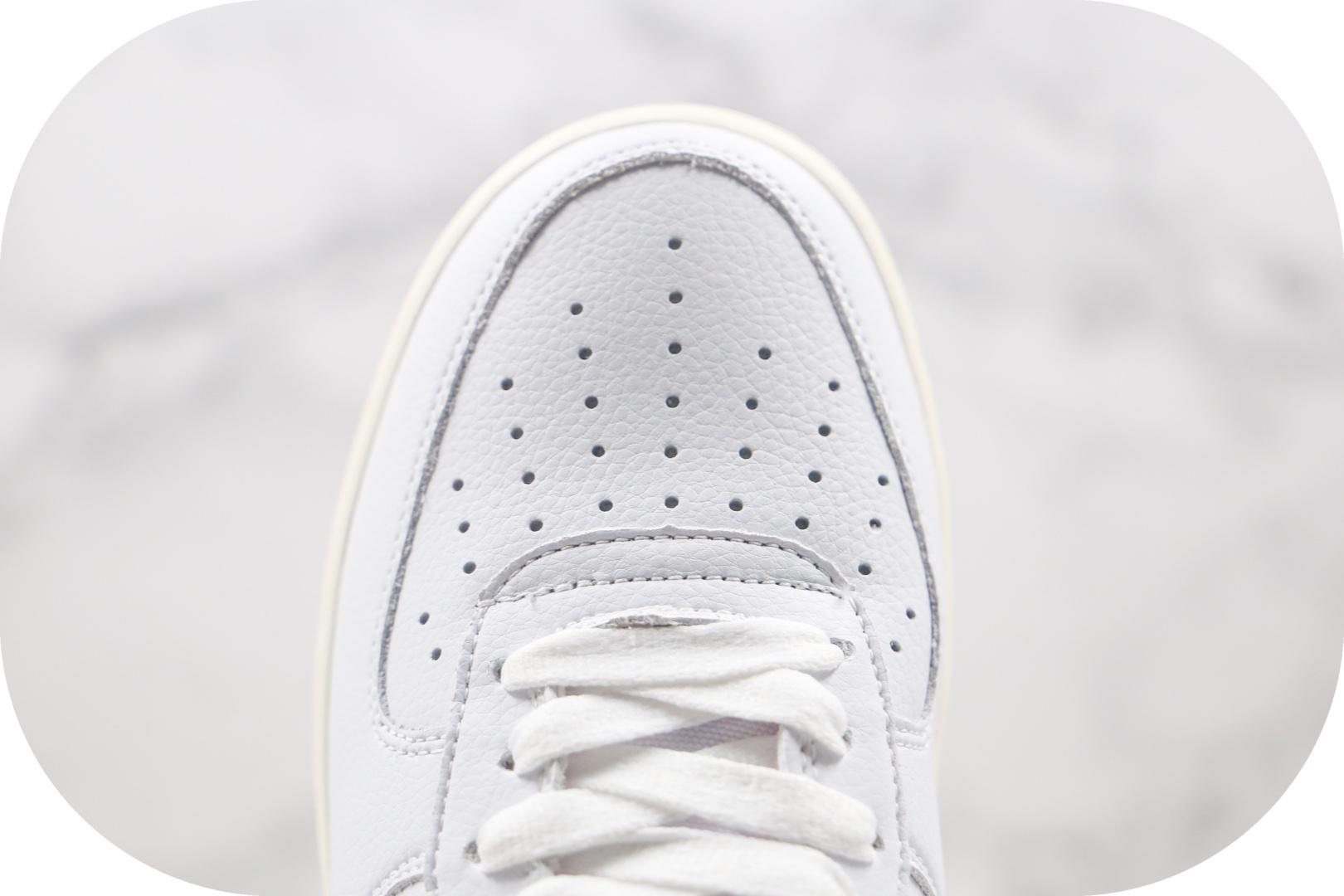 耐克Nike Air Force1 LOW纯原版本低帮空军一号爱心板鞋原盒原标内置气垫 货号:DD7117-100