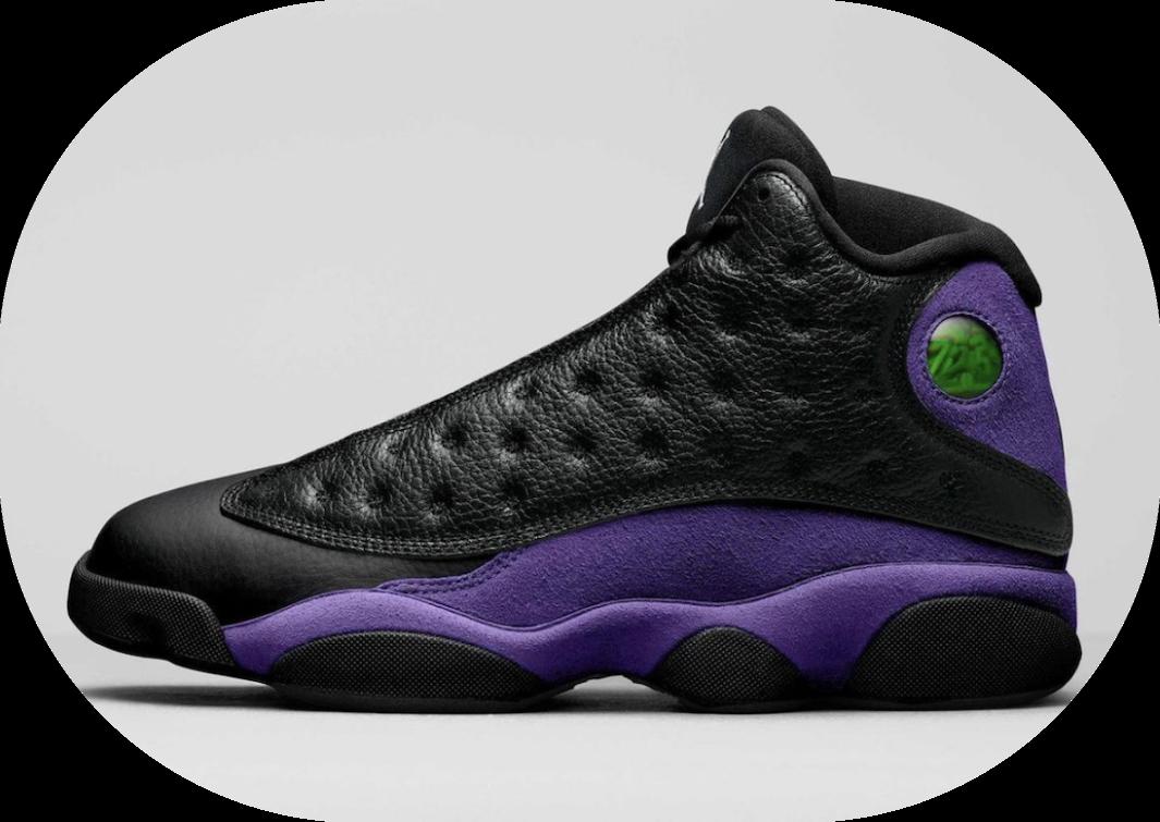 全新黑紫AJ13首度曝光!气质高级! 货号:DJ5982-015