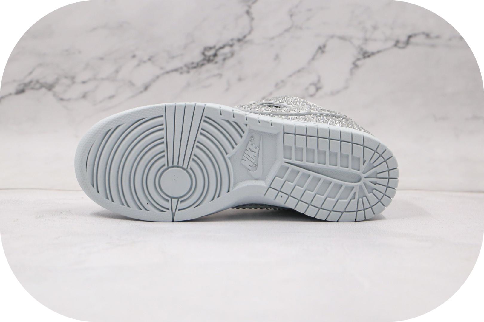 耐克Nike Dunk Low x Cactus Plant Flea Market联名款纯原版本低帮SB DUNK白色水钻板鞋原档案数据开发 货号:CZ2670-001
