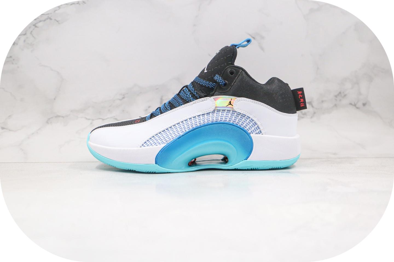乔丹Air Jordan 35 DNA纯原版本白蓝色AJ35篮球鞋内置气垫支持实战 货号:CZ8153-100