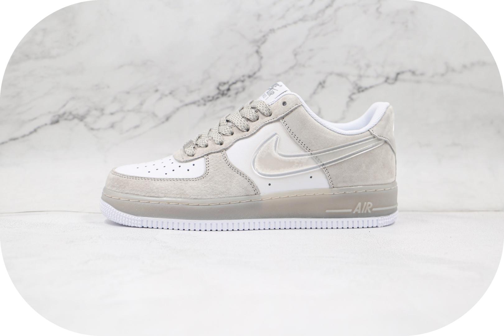 耐克Nike Air Force 1 07纯原版本低帮空军一号灰白熊猫果冻勾板鞋内置气垫 货号:CN1228-003