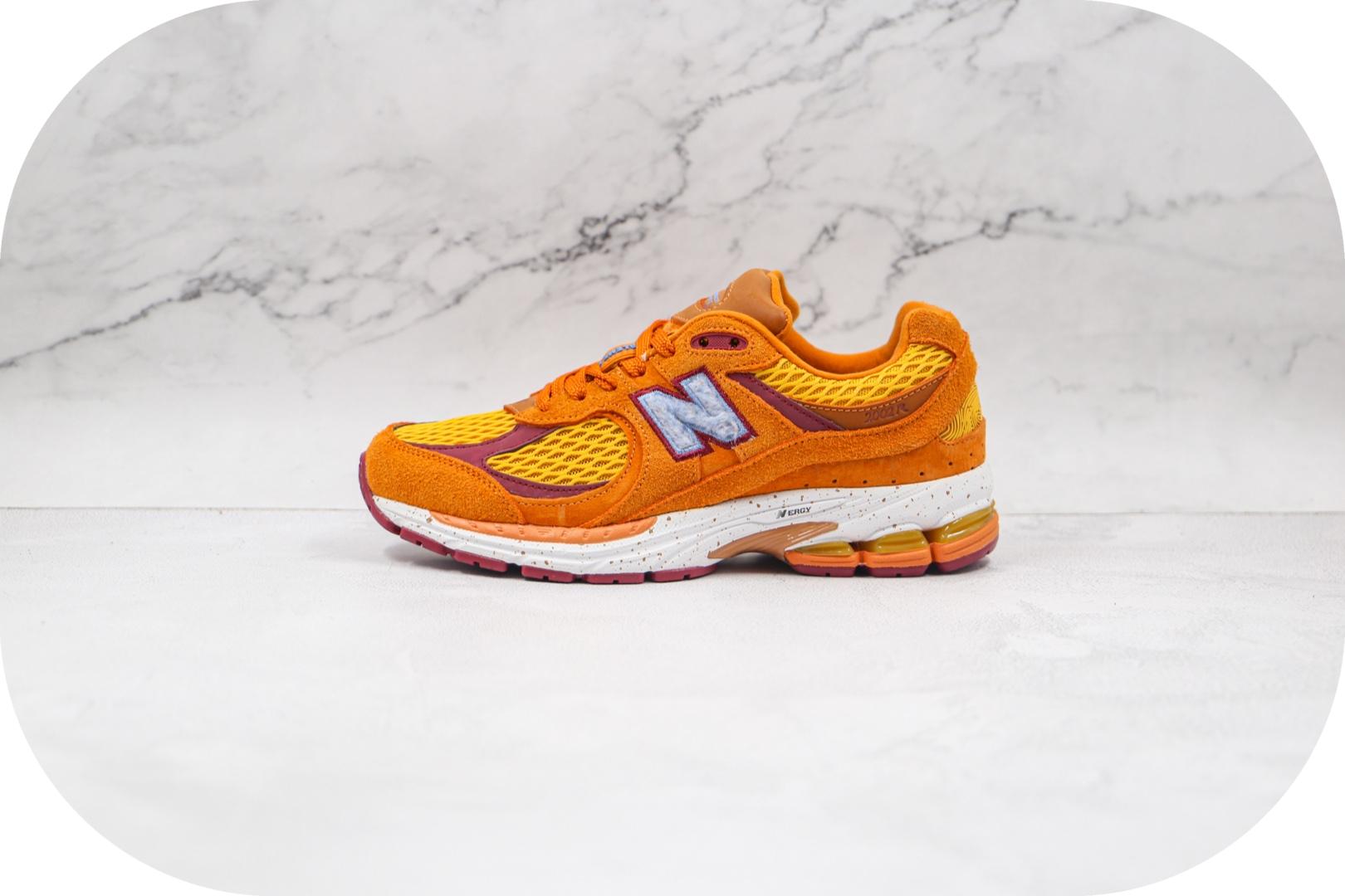 新百伦New Balance x SaleheBembury WL2002公司级版本联名款NB复古跑鞋橙色原档案数据开发 货号:ML2002R1