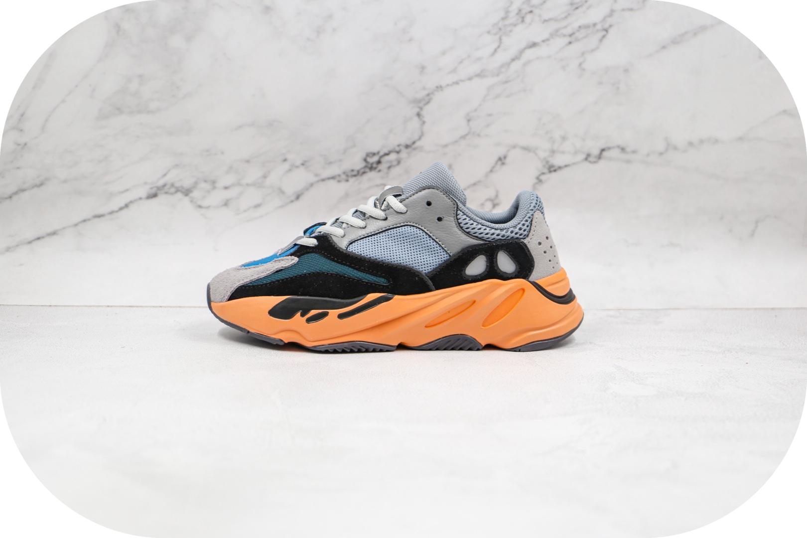 阿迪达斯Adidas Yeezy Boost 700纯原版本椰子700黑橙色爆米花老爹鞋原楦头纸板打造 货号:GW0296