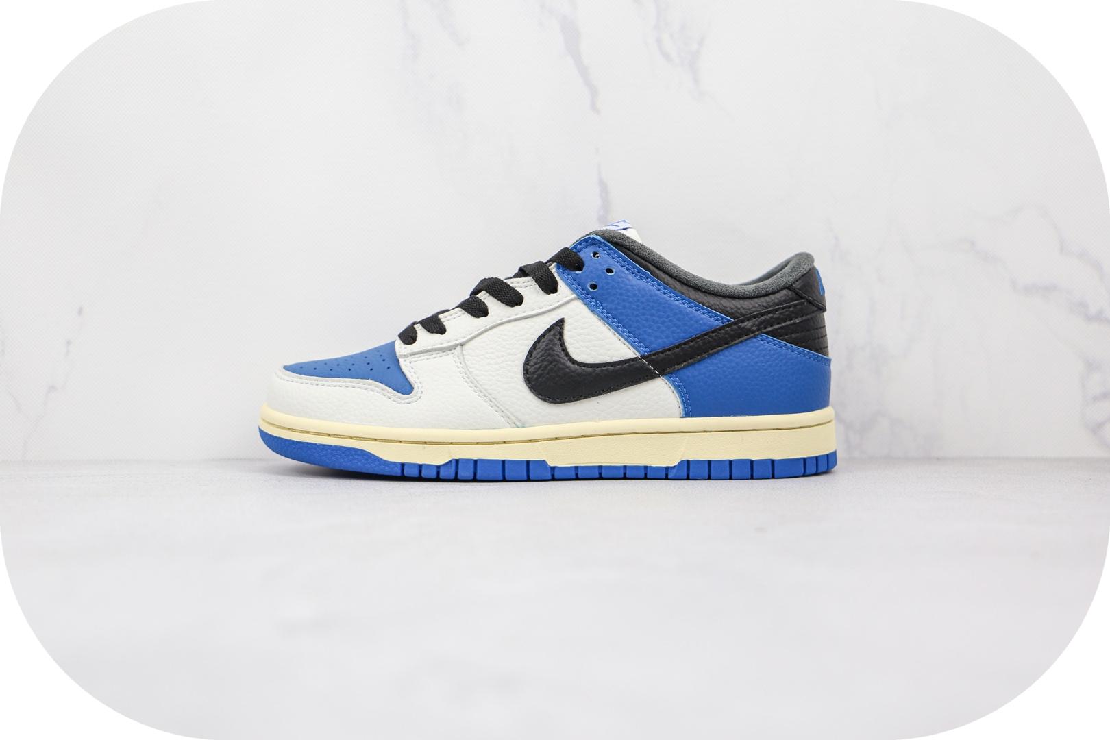 耐克Nike SB Dunk Low Pro纯原版本低帮SB DUNK白蓝色TS联名款板鞋内置气垫 货号:DH0957-105