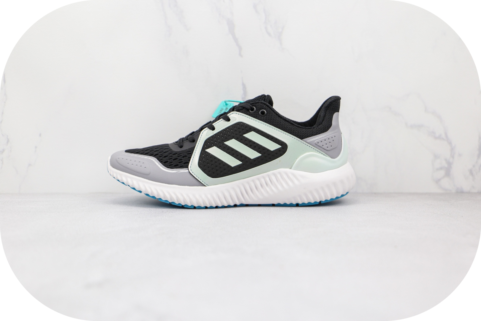 阿迪达斯Adidas Climawarm Bounce纯原版本黑绿色暖风跑鞋原档案数据开发 货号:FX0188