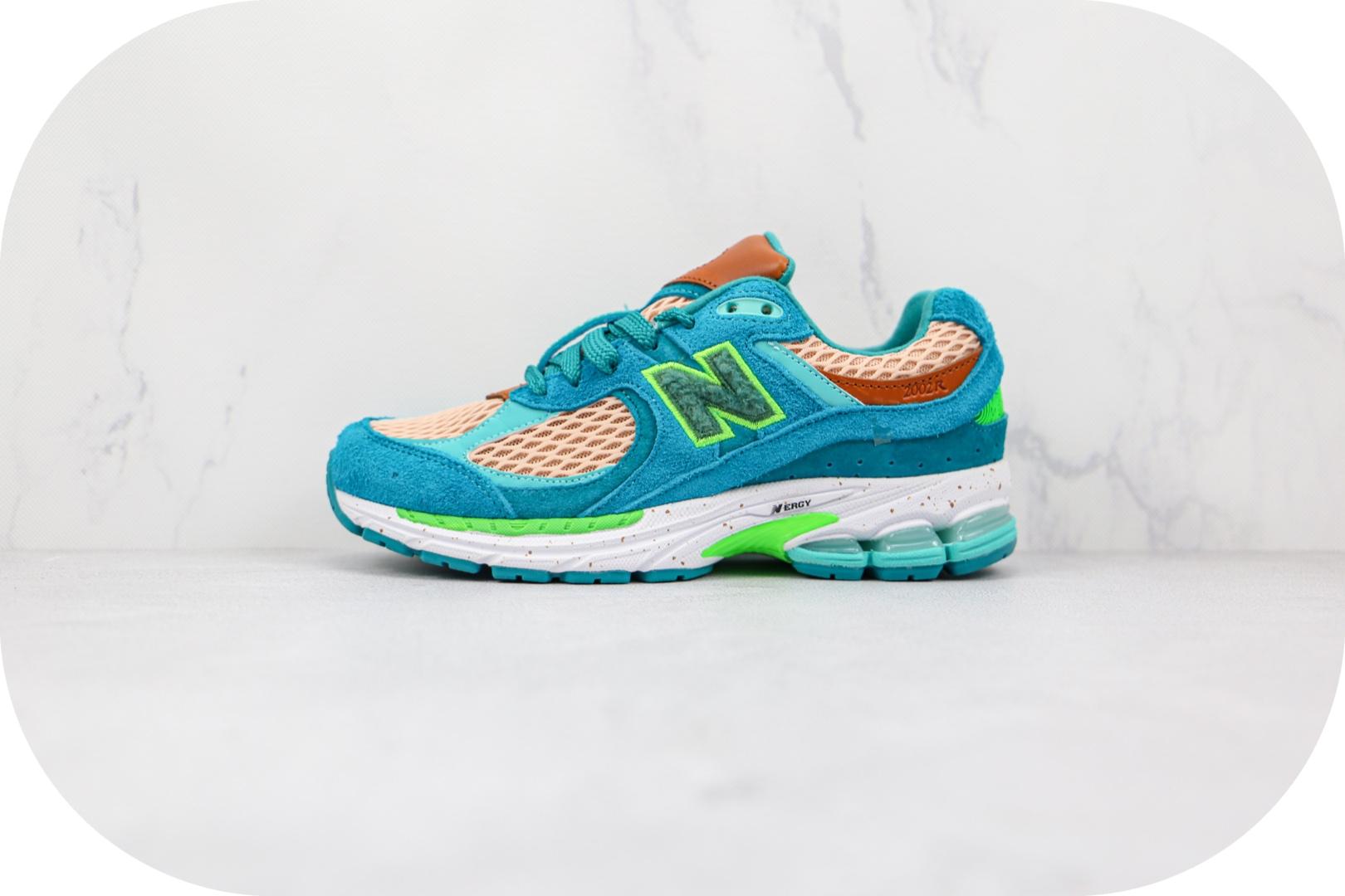 新百伦New balance 2002R纯原版本湖绿色复古NB2002R慢跑鞋原档案数据开发 货号:ML2002RJ