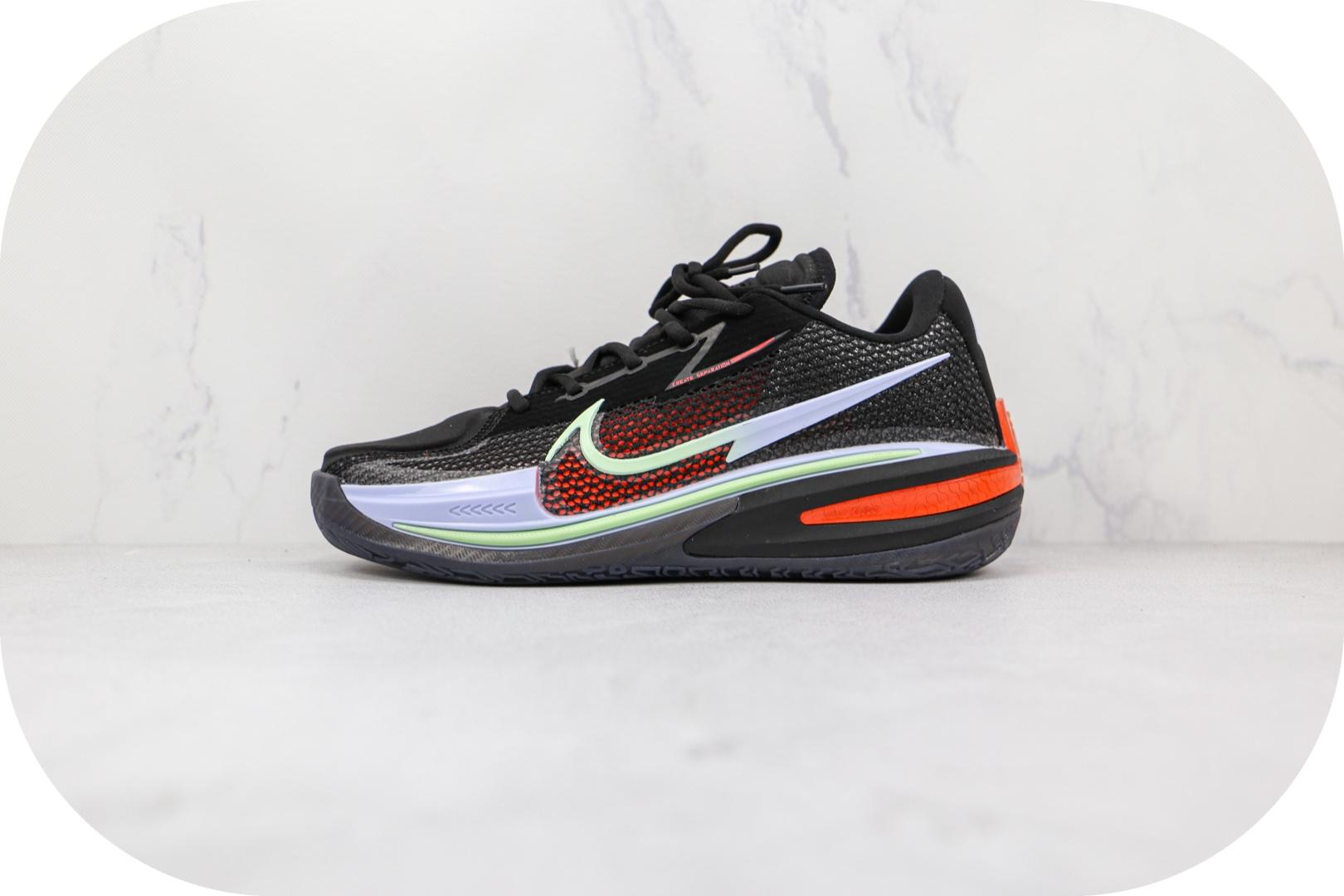 耐克Nike Zoom GT Cut纯原版本黑红绿色GT篮球鞋原档案数据开发 货号:CZ0176-006