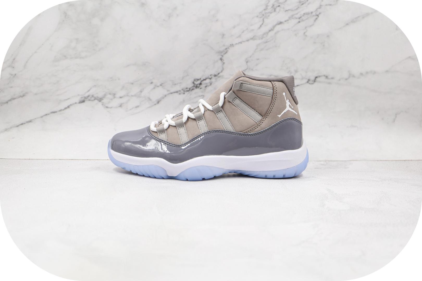 乔丹Air Jordan 11 Retro Cool Grey纯原版本高帮AJ11酷灰篮球鞋内置碳板 货号:CT8012-005