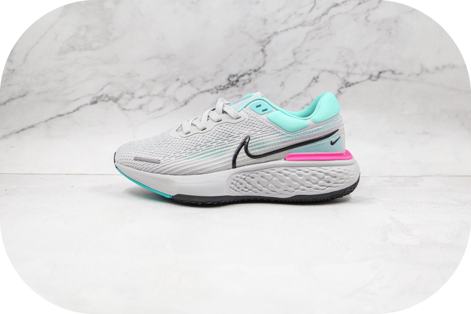 耐克Nike ZoomX Invincible Run FK纯原版本网面透气灰色慢跑鞋原楦头纸板打造 货号:CT2228-003