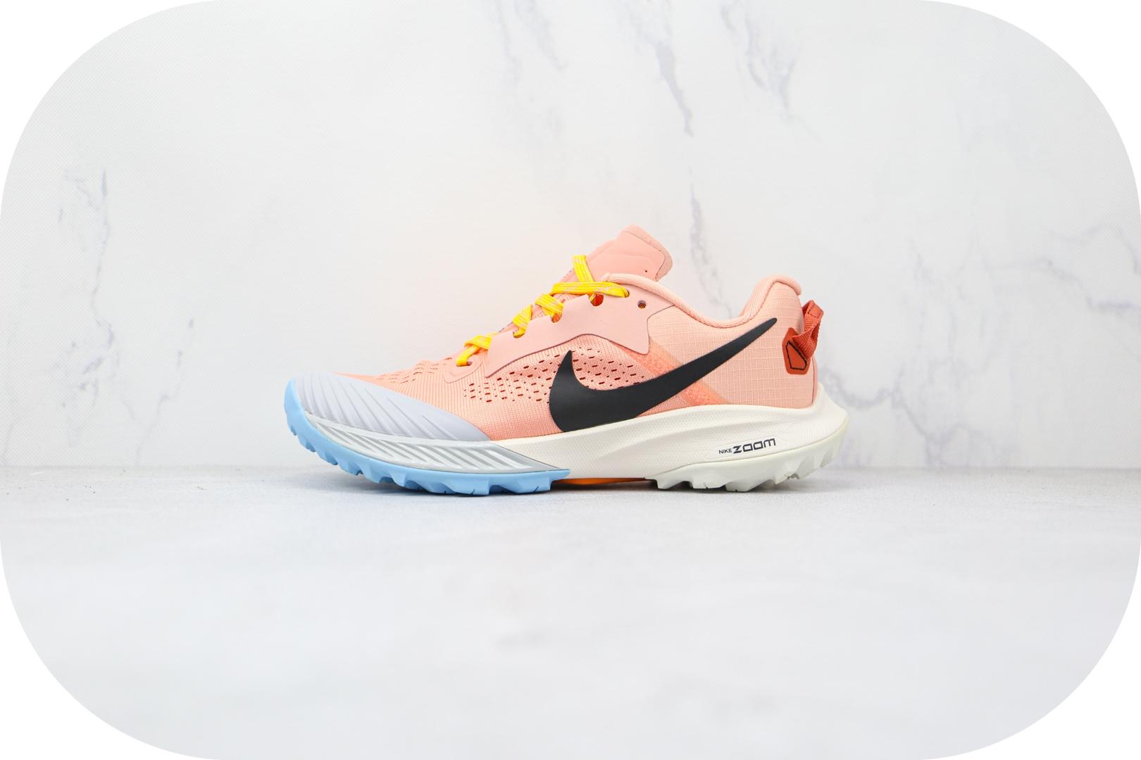 耐克Nike Air Zoom Terra Kiger 6纯原版本飞马6代征服荒野系列粉色跑鞋原盒原标 货号:CJ0220-600