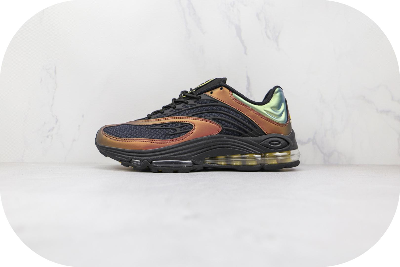 耐克Nike Air Tuned Max OG Dark Charcoal纯原版本深色木炭黑褐绿色Tuned Max气垫鞋原楦头纸板打造 货号:CV6984-001