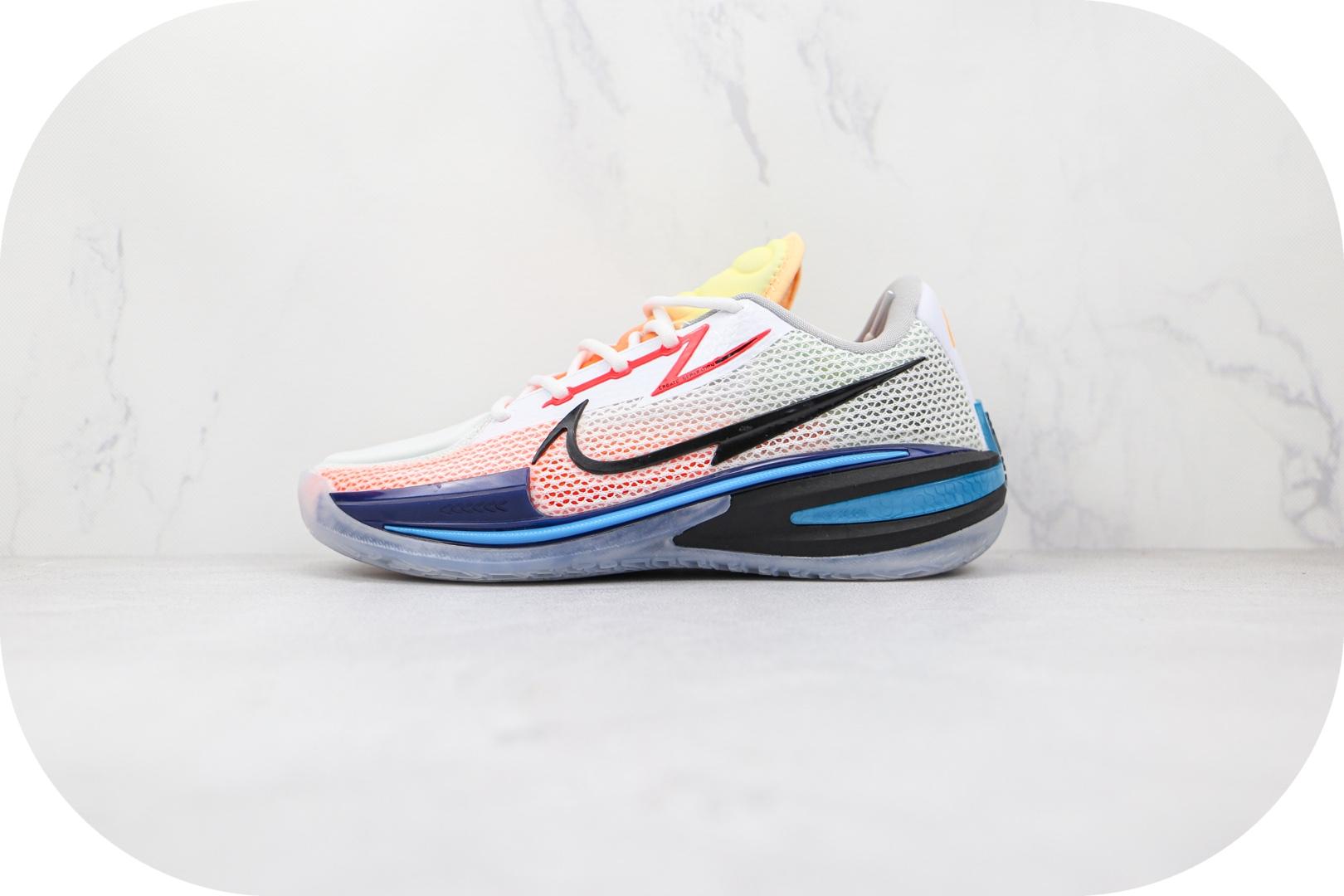 耐克Nike Zoom GT Cut纯原版本白黑红蓝色GT篮球鞋原档案数据开发 货号:CZ0175-101