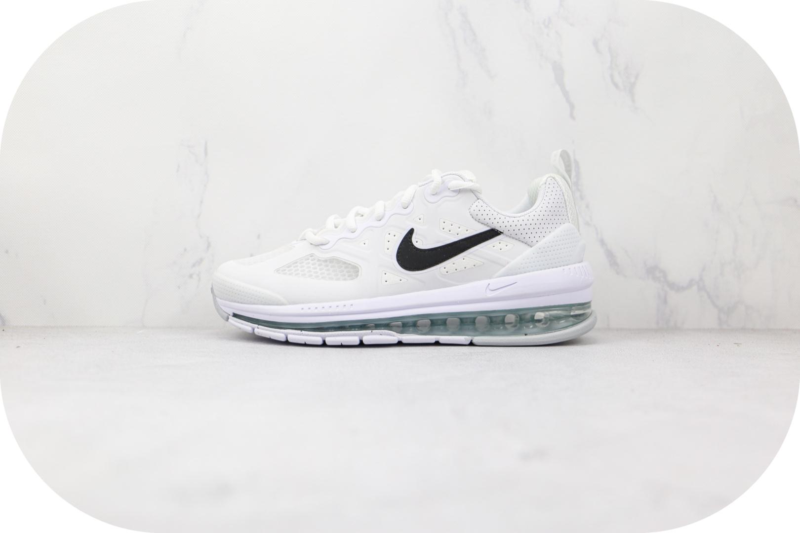 耐克Nike Air Max Genome纯原版本白黑色Genome气垫鞋原楦头纸板打造 货号:CW1648-100