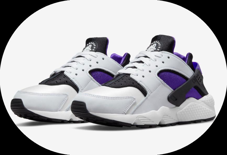"""诞生30周年纪念!Nike Air Huarache元年配色""""Purple Punch""""回归! 货号:DH4439-105"""