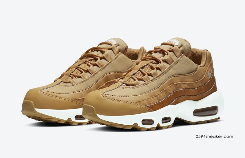 """Nike Air Max 95 WMNS """"Wheat"""" 货号:CZ3951-700 - G5折扣网"""