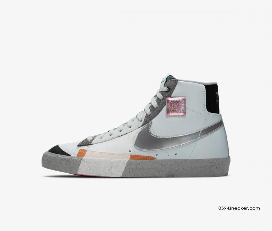 "Nike Blazer Mid '77 VNTG ""今朝明朝"" 货号:DC9170-001"