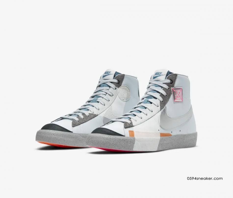 """Nike Blazer Mid '77 VNTG """"今朝明朝"""" 货号:DC9170-001 - G5折扣网"""