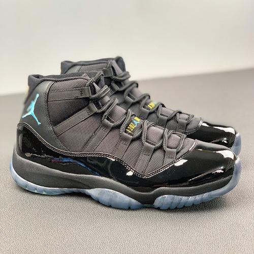 Air Jordan Retro 11 Gamma AJ11 乔11伽玛蓝 黑蓝 真标 真碳纤 篮球鞋 378037-006_河源裸鞋啊