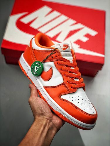 Nike SB Dunk Low Pro  经典回归 白橘雪城 白橙 CU1726-101_s2纯原什么鞋做得好