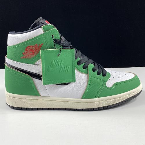"Air Jordan 1 Retro High OG""Lucky Green"" 凯尔特人限定 AJ1代经典复古经典高帮篮球鞋 凯尔特人幸运绿配色 DB4612-300_莆田鞋LJR"