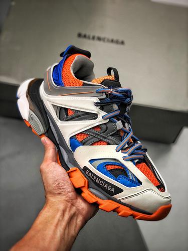 巴黎世家3.0  三代户外概念鞋  Balenciaga Sneaker Tess 3.0(无灯版)_og纯原跟s2