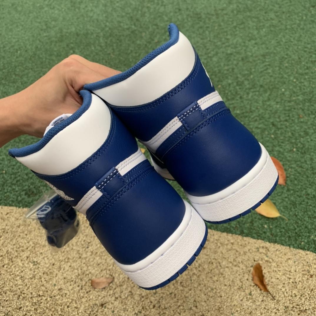 特供版-LJR出品-材料-Air Jordan 1 Storm Blue AJ1 风暴蓝 白蓝 555088-127_椰子ljr版本是什么意思