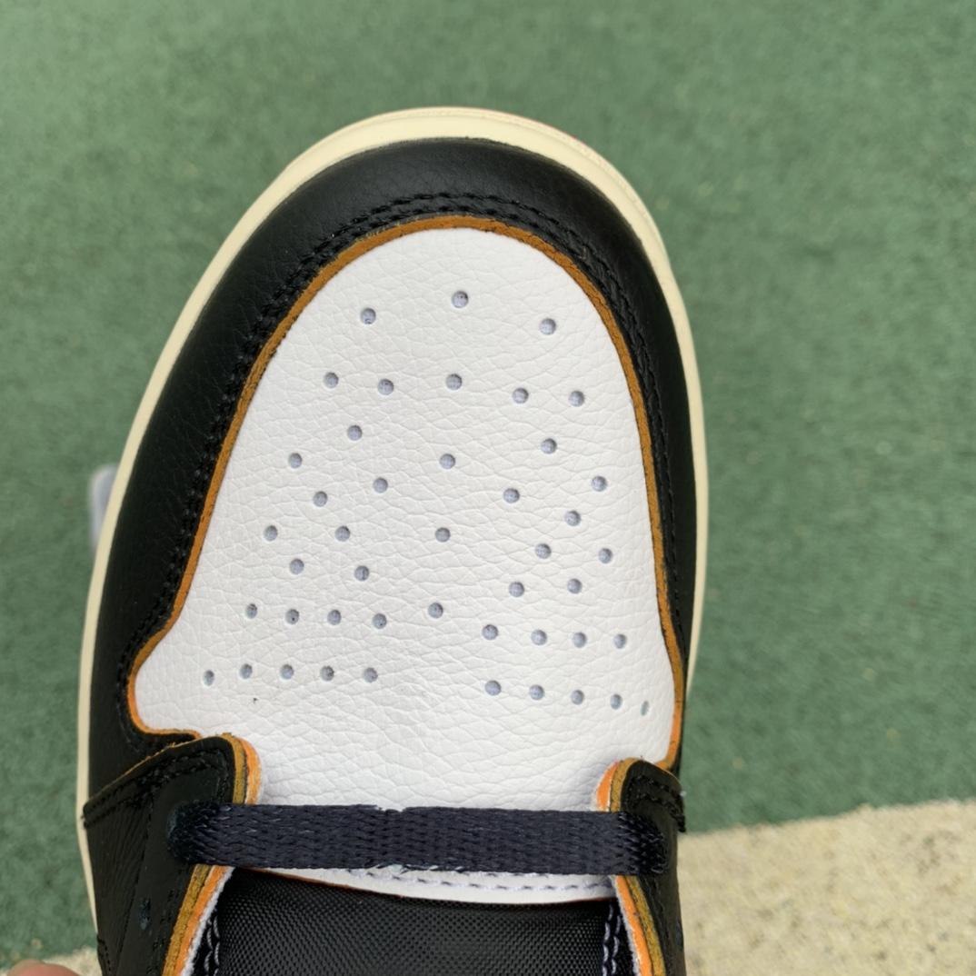 LJR出品-黑脚趾拼接-Union x Air Jordan 1 黑脚趾拼接 BV1300-106_莆田鞋版本等级与价格