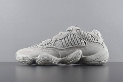 """【G5版椰子500】鞋码:36-47 G5版本 Adidas YEEZY 500 """"Salt""""盐雾色 椰子 500 复古佬爹鞋_椰子 500 og pk g5"""