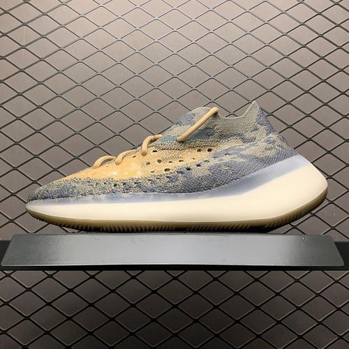 "Adidas 阿迪达斯  Yeezy Boost 380 "" Alien Mist "" 外星人 侃爷椰子 灰迷彩 FV326_纯原鞋和s2"