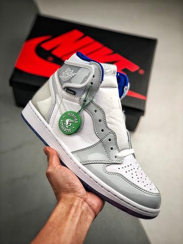 "S2纯原高帮 Air Jordan 1 Air Jordan 1 High Zoom"" 货号:CK6637-104    乔1高帮白灰渐变_s2工厂的鞋好不好"