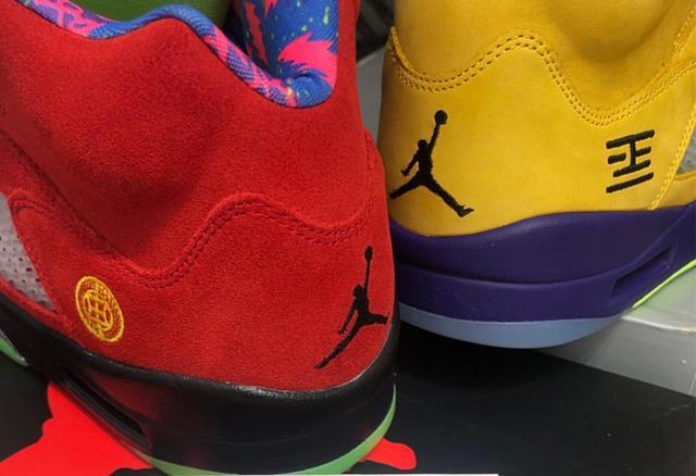 "Air Jordan 5 ""What The"" 鸳鸯 货号:CZ5725-700_东莞AJ售卖商"