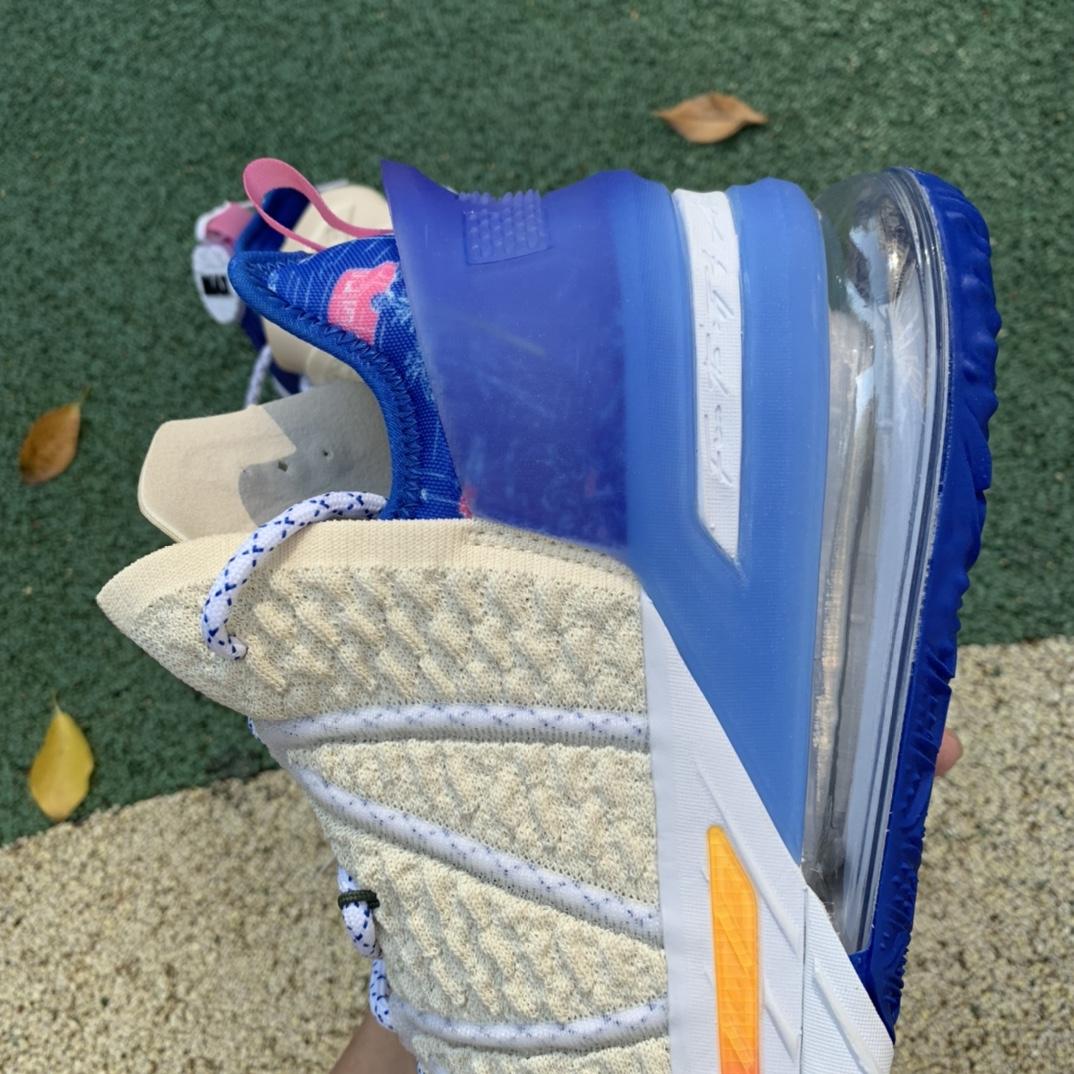 Lebron XVIII Los Angeles By Day Sneakers 白日洛杉矶 DB8148-200_莆田鞋微信
